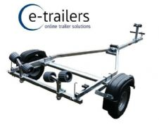 PROLINE 350kg 4 Roller Trailer for 10ft BOATS 3m RIBS  3m JET SKI  11ft DINGHY